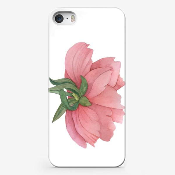 Чехол iPhone «Пион »