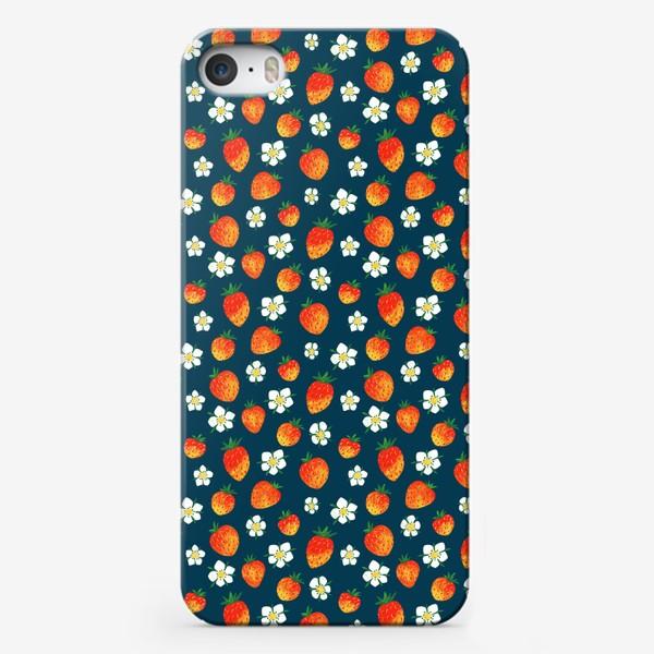 Чехол iPhone «ЗЕМЛЯНИКА»