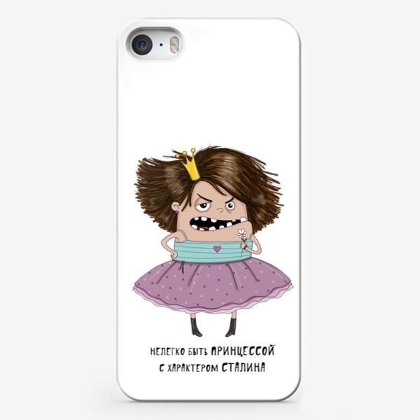 Чехол iPhone «Принцесса с характером Сталина»