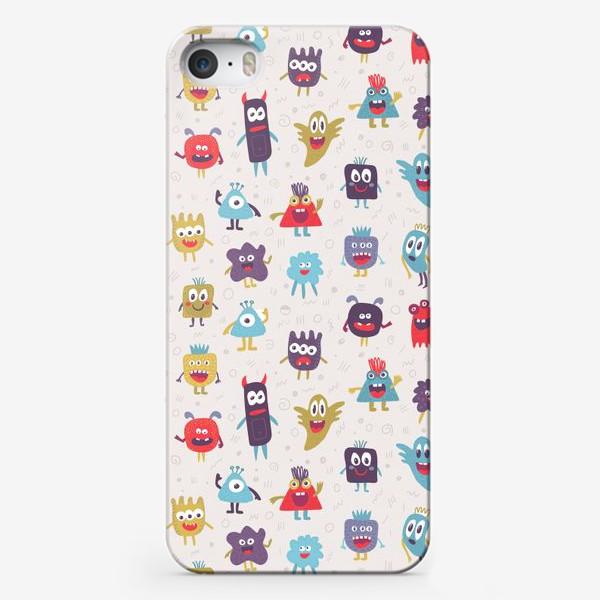 Чехол iPhone «Монстрики»