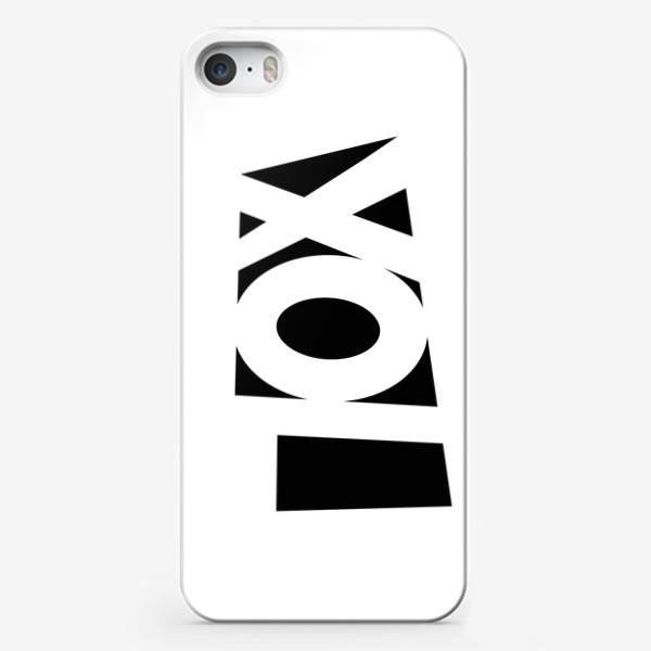 Чехол iPhone «Пох»