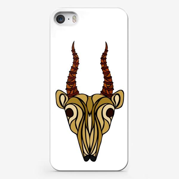 Чехол iPhone «Сайгак»