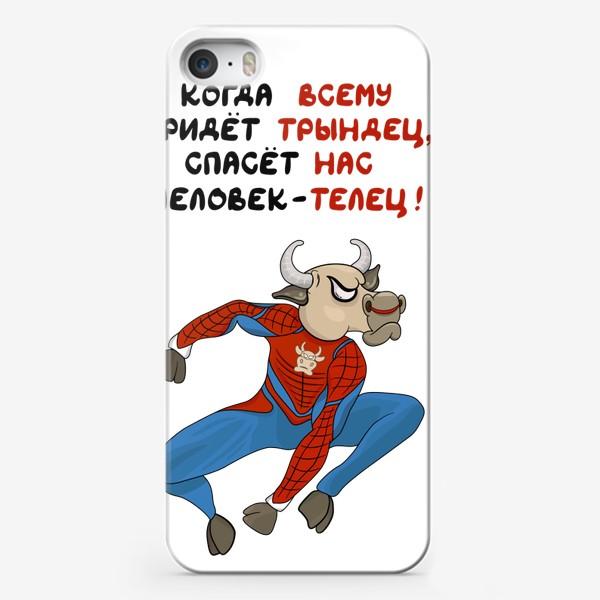 Чехол iPhone «Телец (человек-паук)»