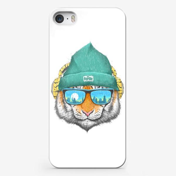 Чехол iPhone «City tiger»
