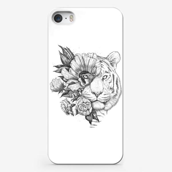 Чехол iPhone «Floral tiger»