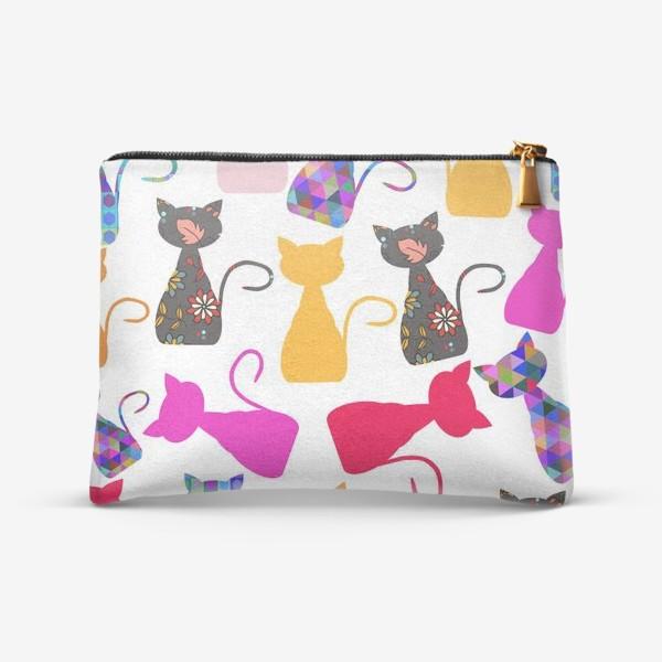 Косметичка «Cats pattern»