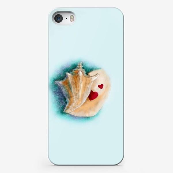 Чехол iPhone «Раковина (сердце, любовь)»