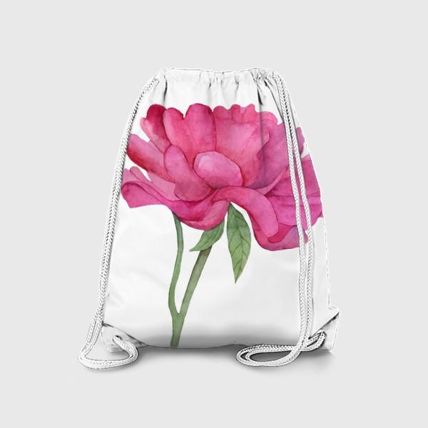Рюкзак «Розовый пион»