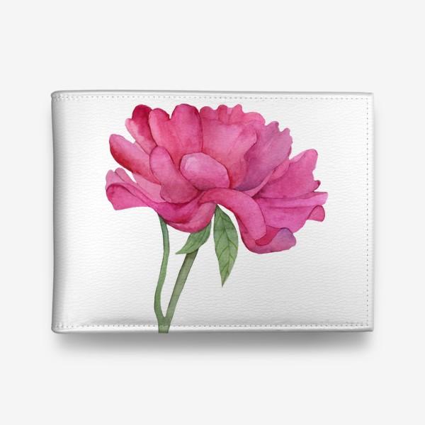 Кошелек «Розовый пион»