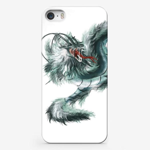 Чехол iPhone «Нефритовый дракон»