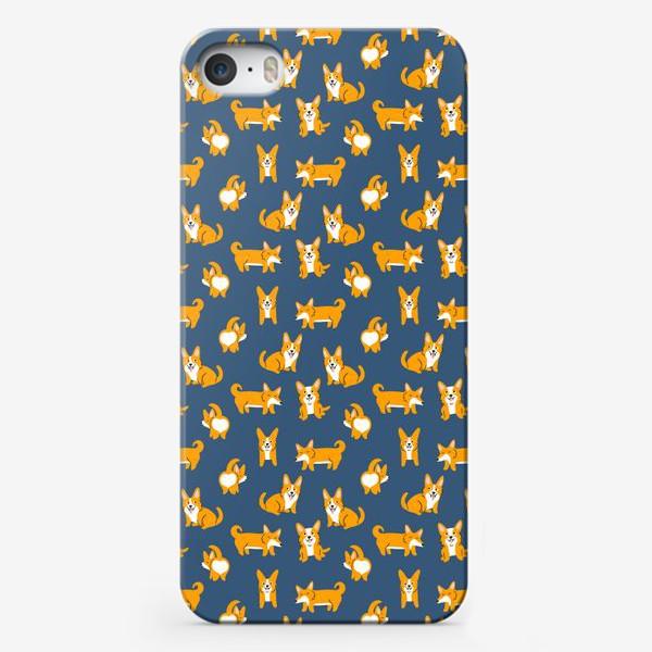Чехол iPhone «Корги собаки»