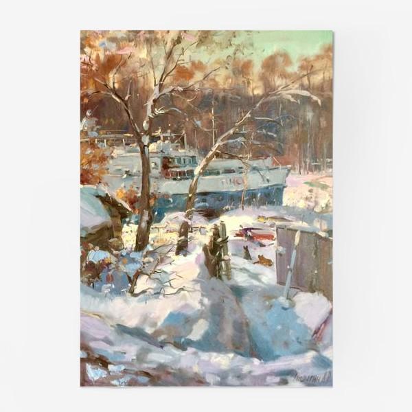 Постер «Зима не отступает»