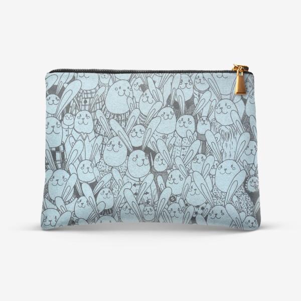 Косметичка «Зайцы, много зайцев!»