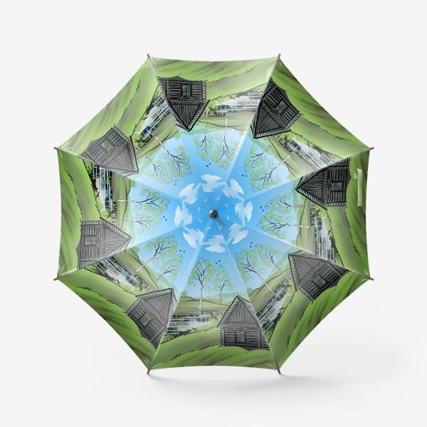 Зонт «Северная весна»