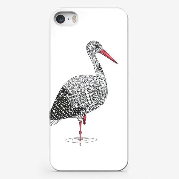Чехол iPhone «Белый аист»