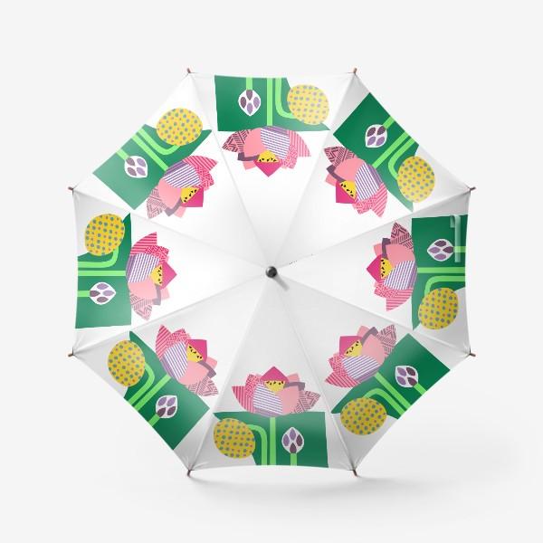 Зонт «Лотос»