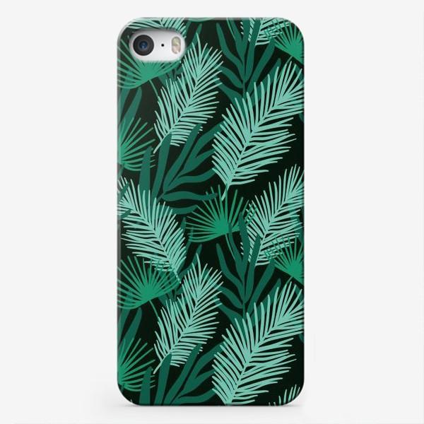 Чехол iPhone «Тропические листья»