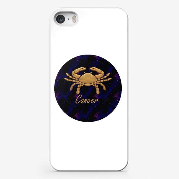 Чехол iPhone «Cancer Crab»