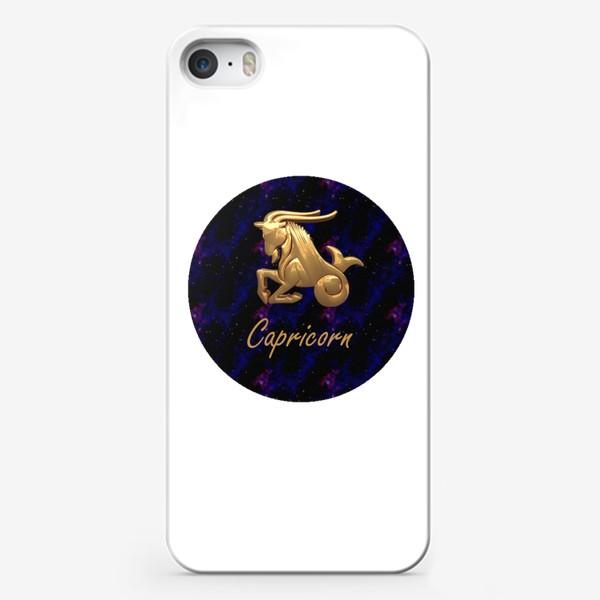 Чехол iPhone «Capricorn Sea Goat»