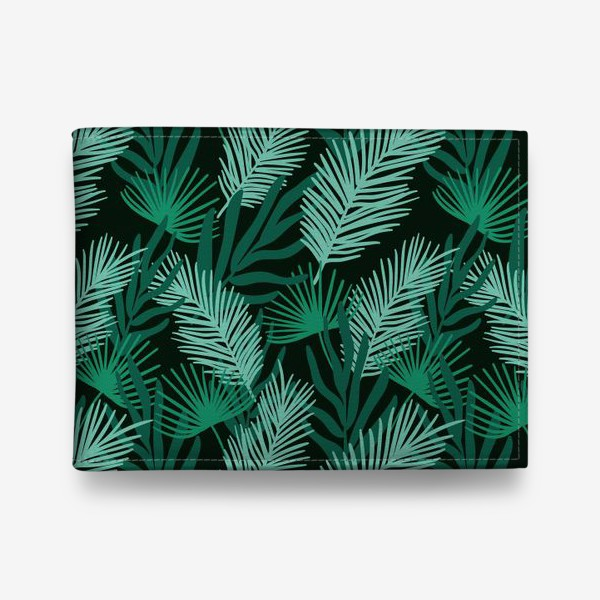 Кошелек «Тропические листья»