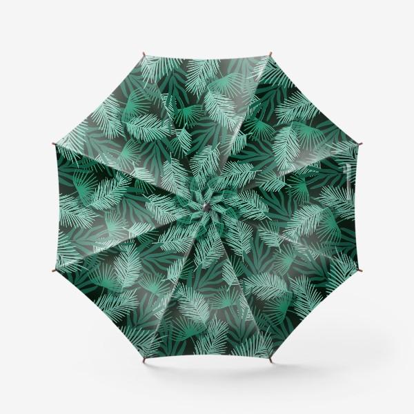Зонт «Тропические листья»