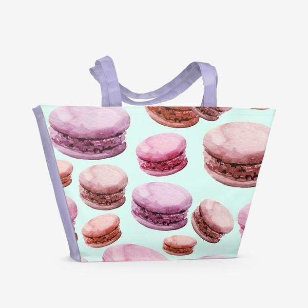 Пляжная сумка «Макаруны »