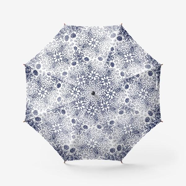 Зонт «Дудл растения»