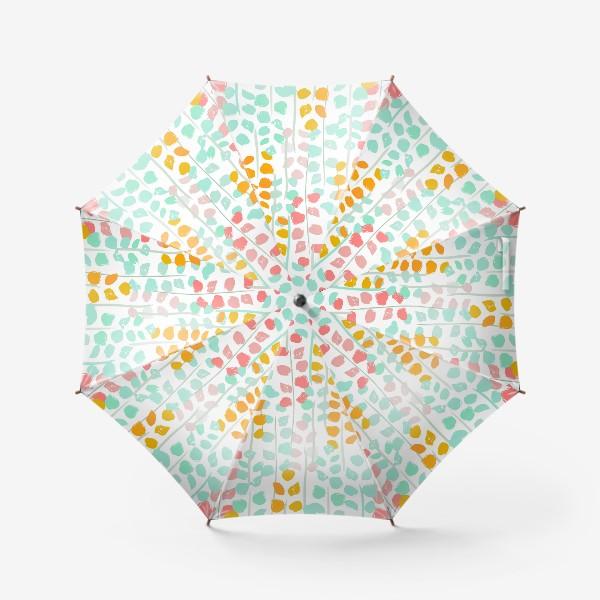 Зонт «абстрактный цветочный узор»