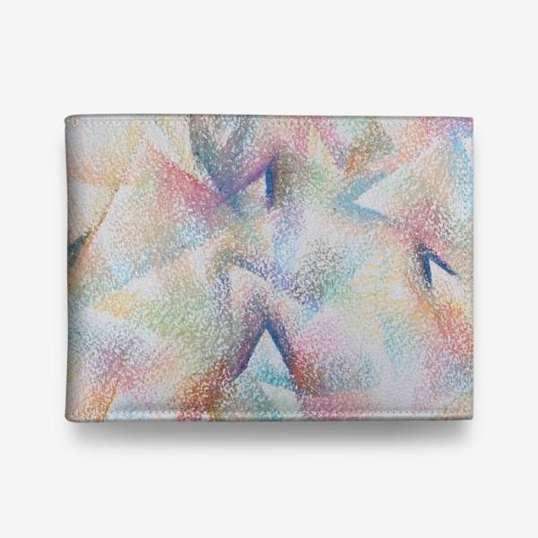 Кошелек «Абстракция пастельные цвета»