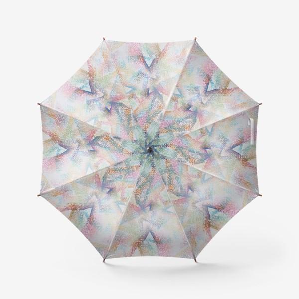 Зонт «Абстракция пастельные цвета»