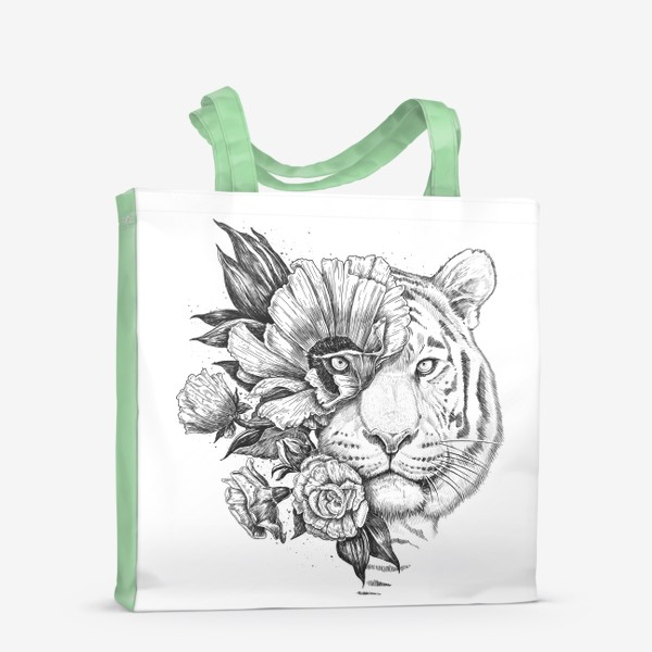 Сумка-шоппер «Floral tiger»