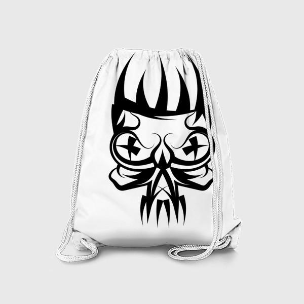 Рюкзак «abstract skul»