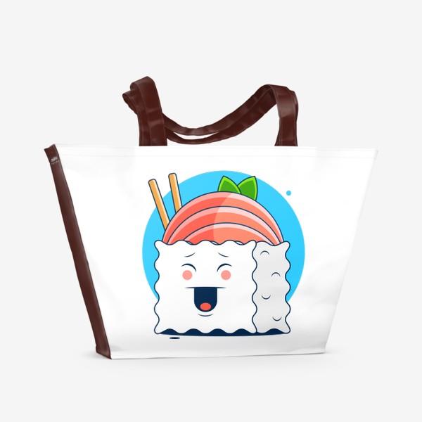 Пляжная сумка «Суши»