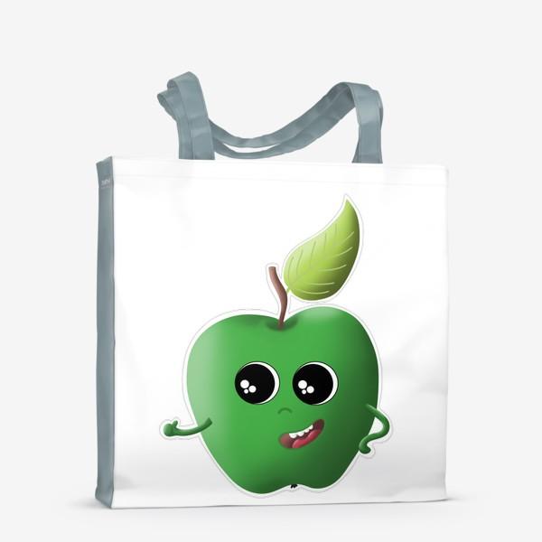 Сумка-шоппер «Apple green»