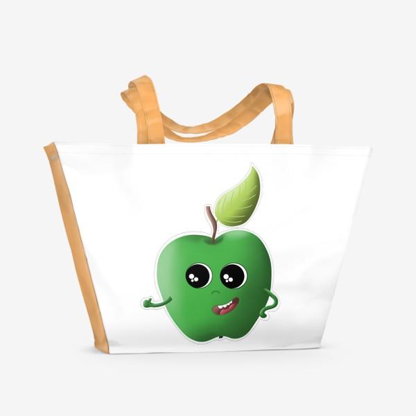 Пляжная сумка «Apple green»