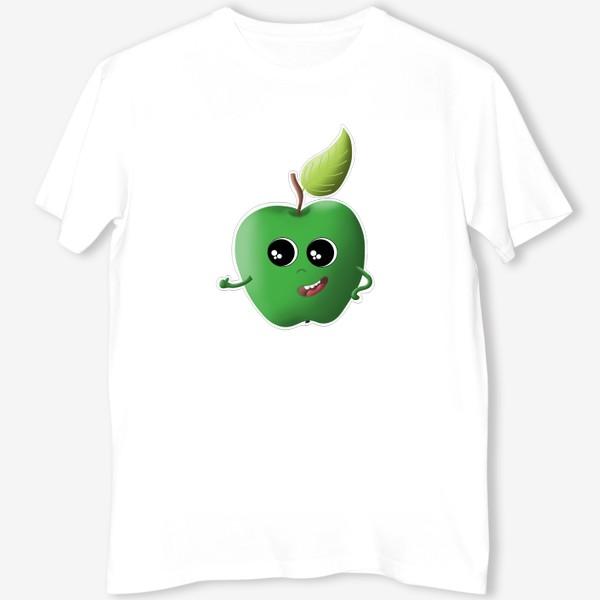 Футболка «Apple green»