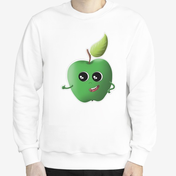 Свитшот «Apple green»