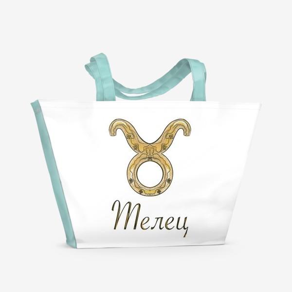 Пляжная сумка «Телец»