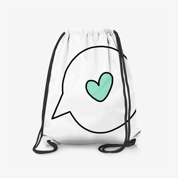 Рюкзак «Поговорим о любви..»