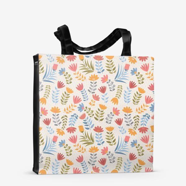 Сумка-шоппер «Поле цветов»