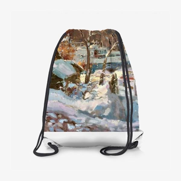 Рюкзак «Зима не отступает»