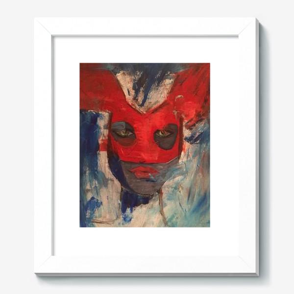 Картина «женщина кошка»
