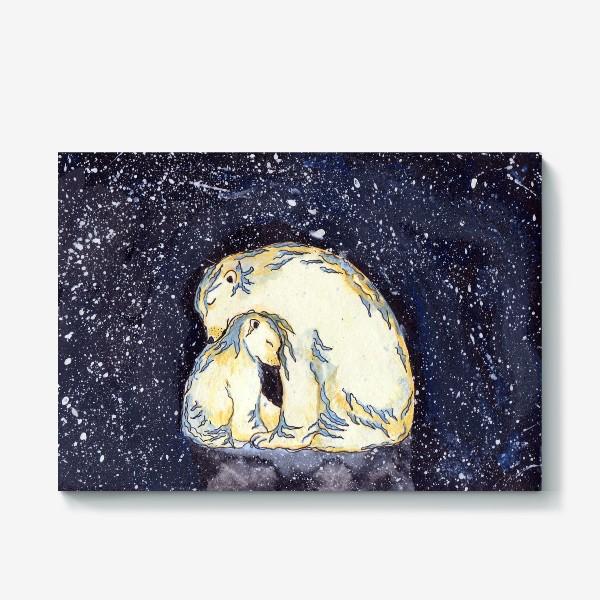 Холст «Медведица»