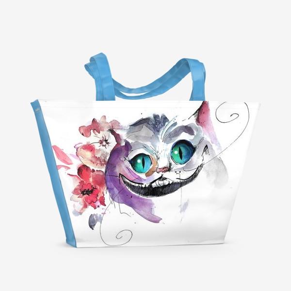 Пляжная сумка «Чеширский кот»