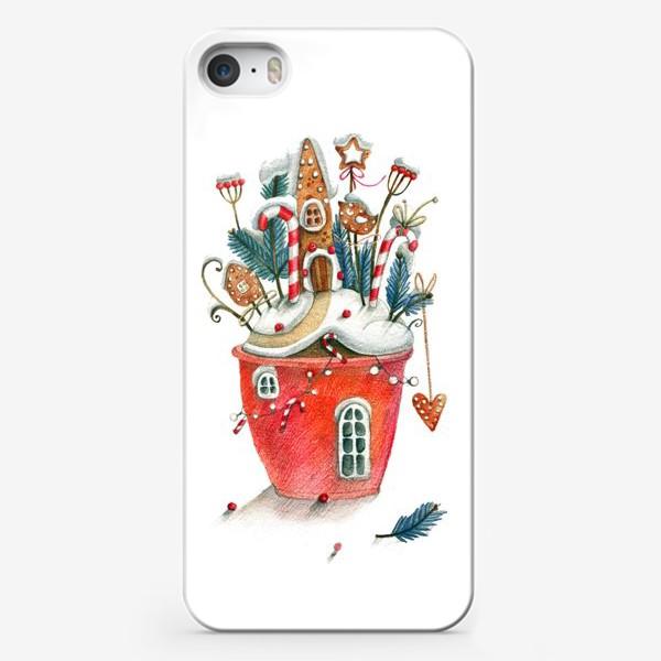 Чехол iPhone «Рождественский горщочек»