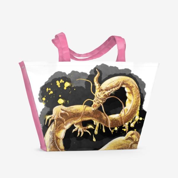 Пляжная сумка «Золотой Дракон »