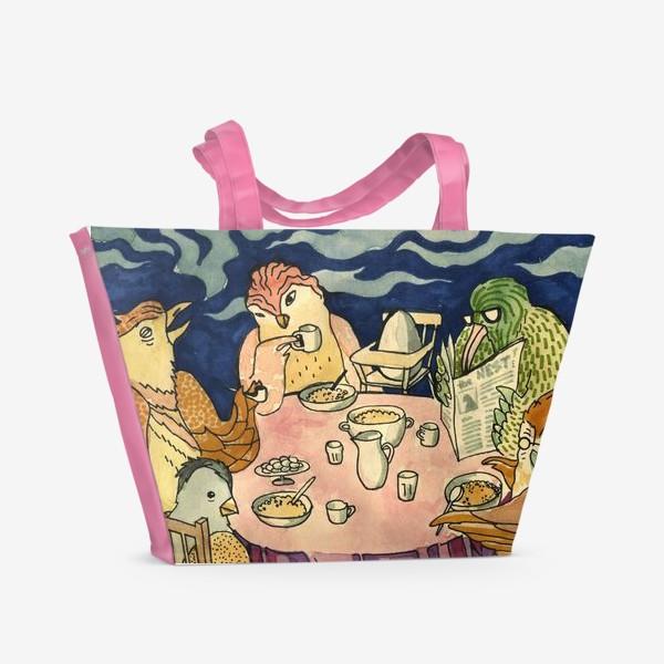 Пляжная сумка «the family»
