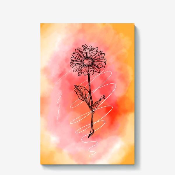 Холст «Цветок»