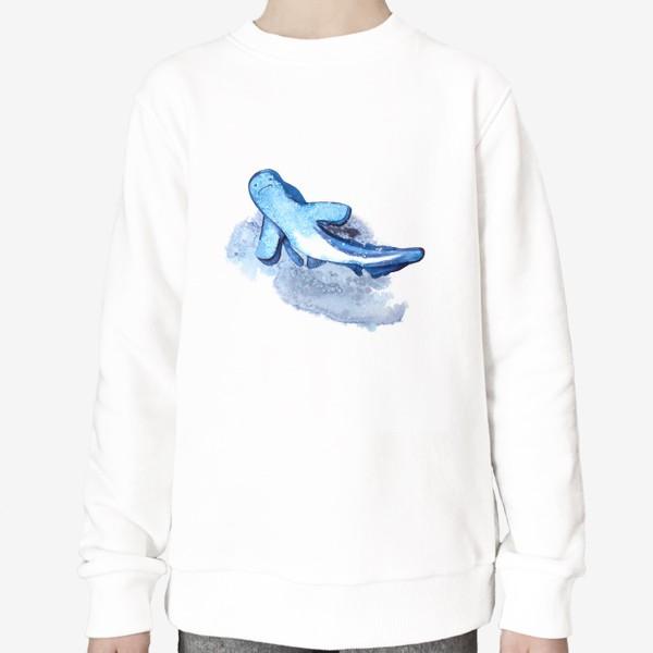 Свитшот «Синяя акула»