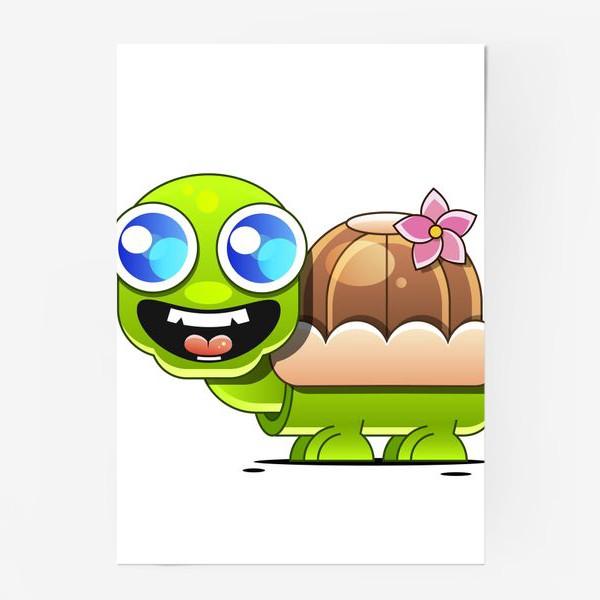 Постер «turtle 2»